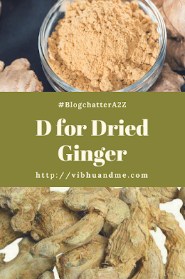 Dried Ginger - Vibhu & Me