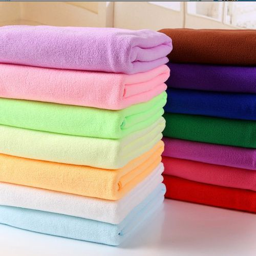 Microfiber dry absorbent towel bath towel beach towel