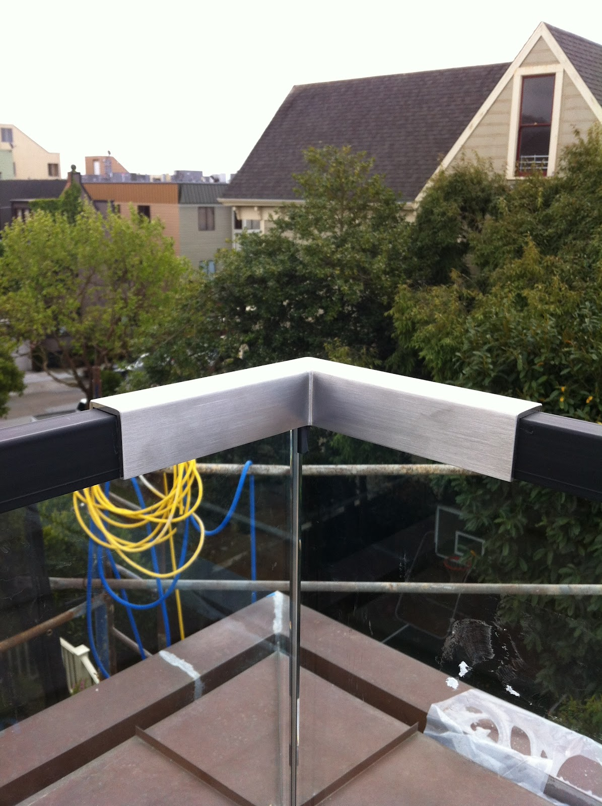 1 2 Deck Railing Installation Photos San Francisco Ot