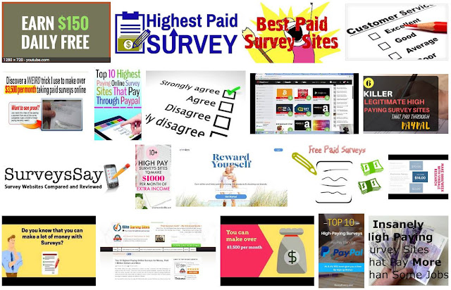High Paying Surveys Sites