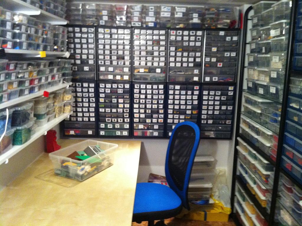 Minecraft Best Sorting Room Setup