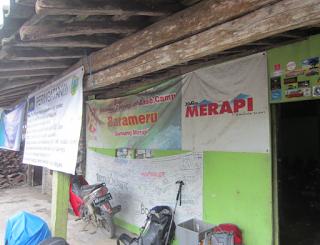 Jalur pendakian gunung Merapi - Basecamp Barameru