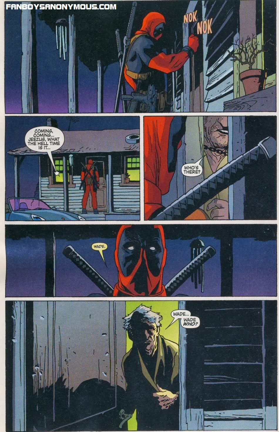 Deadpool searches for his dad