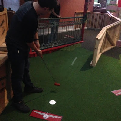 Double Date Putt Putt Golf at Putt Planet