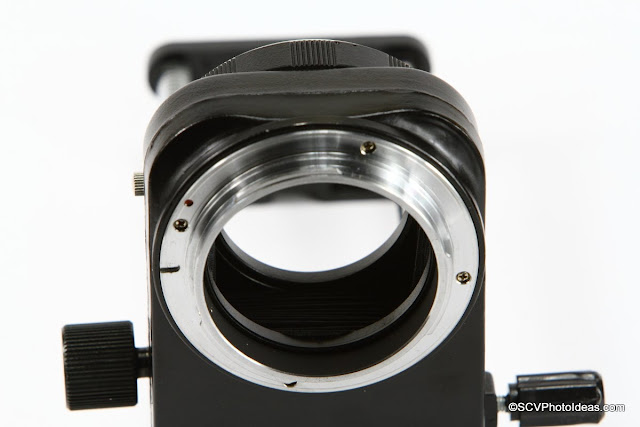 Bellows EF rear body mount detail