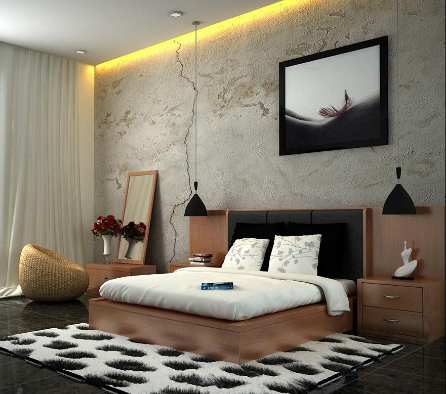 Desain Interior Kamar Tidur  Gambar 1  Kolom Desain  Gambar Desain Rumah Minimalis Desain