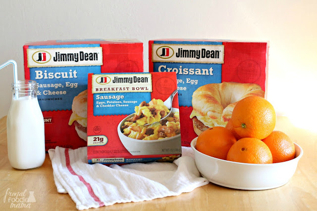 Have a hot and protein-packed breakfast in front of your kids in just minutes with these easy to make Jimmy Dean® breakfast favorites.