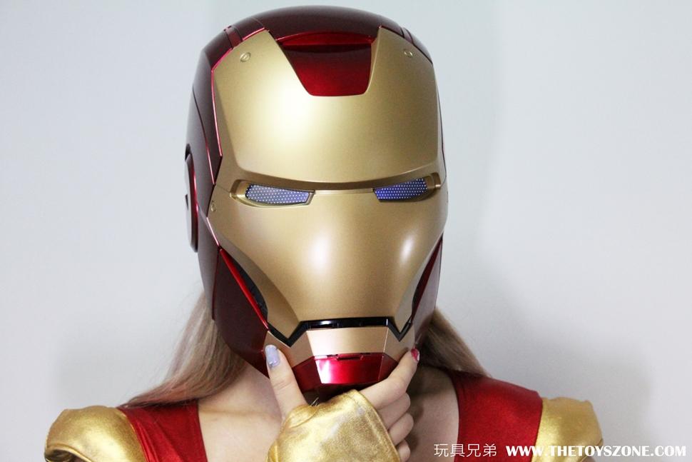 [玩具報告] I Am Iron Man !孩之寶 Marvel 傳奇系列 1:1 Iron man 頭盔 ! - Toys Zone D 玩具兄弟 -Figures Price List. Reviews