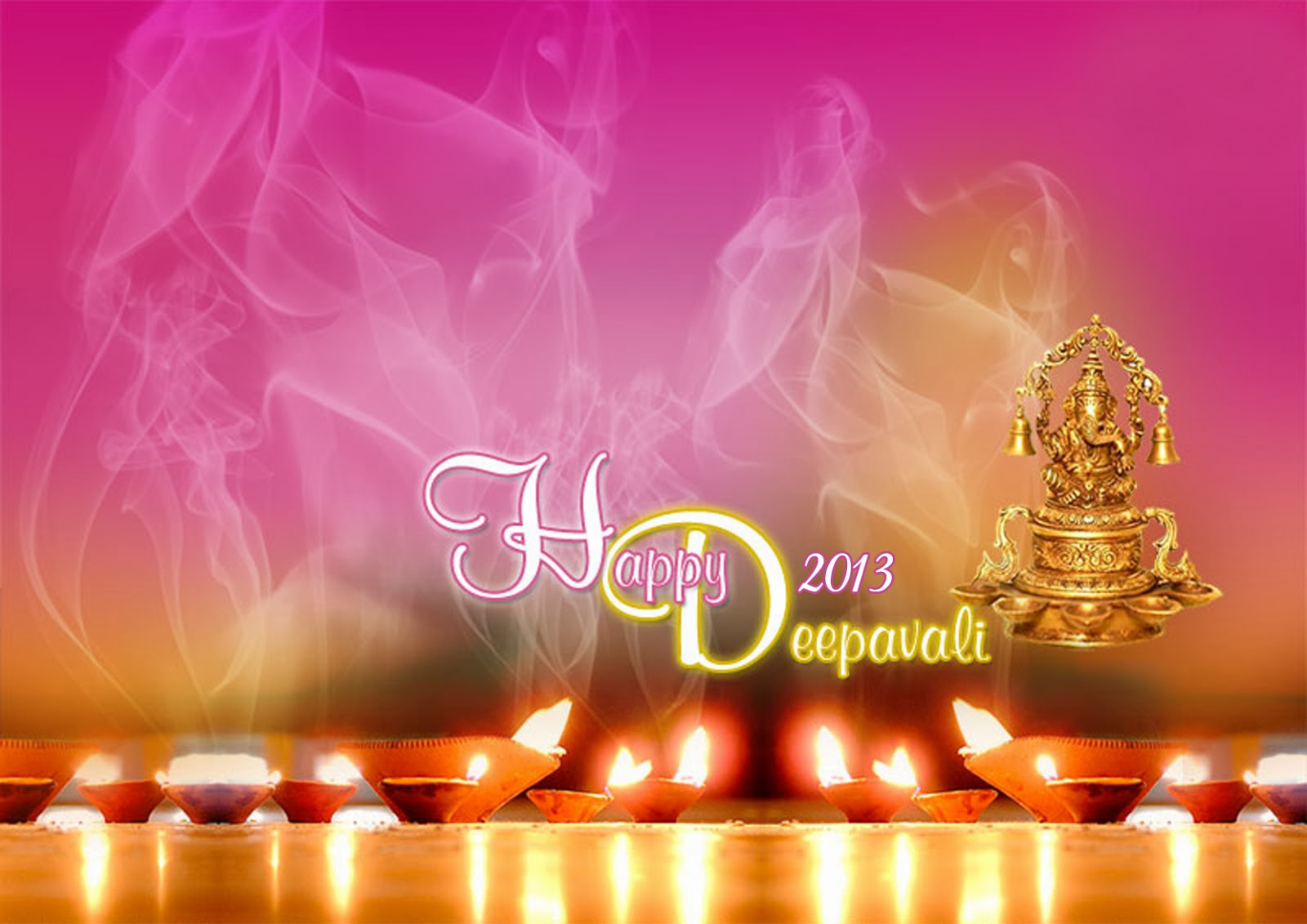 Happy Diwali Wallpapers And Backgrounds: Beautiful Happy Diwali Wallpapers And Greetings For Year 2017