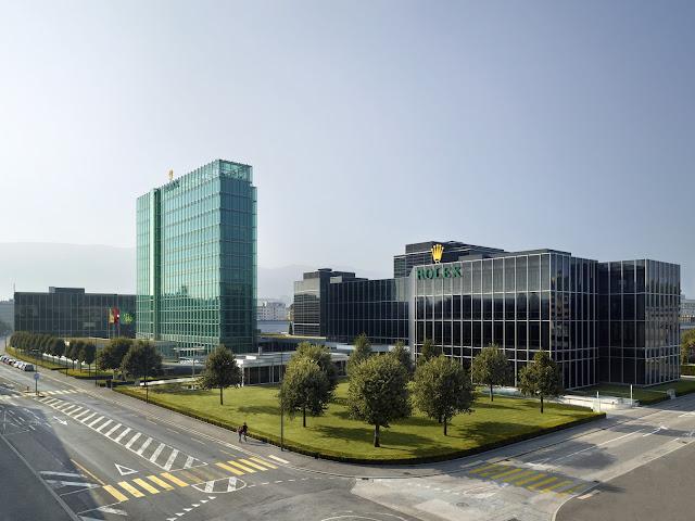 Photo of Rolex World Headquarters in Geneva, Switzerland