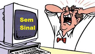 Brasil banda larga sem internet