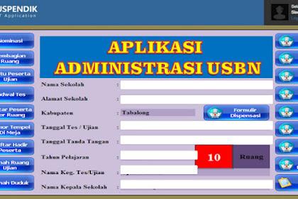 Aplikasi Administrasi USBN SD/MI