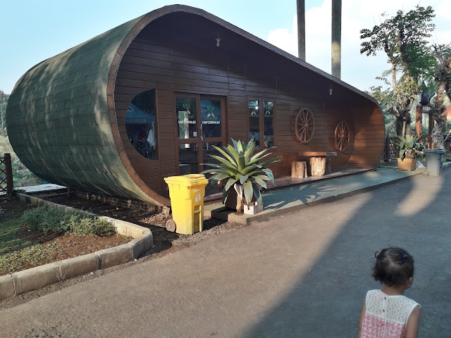 Salah Satu Sudut di Taman Wisata Karang Resik Tasikmalaya