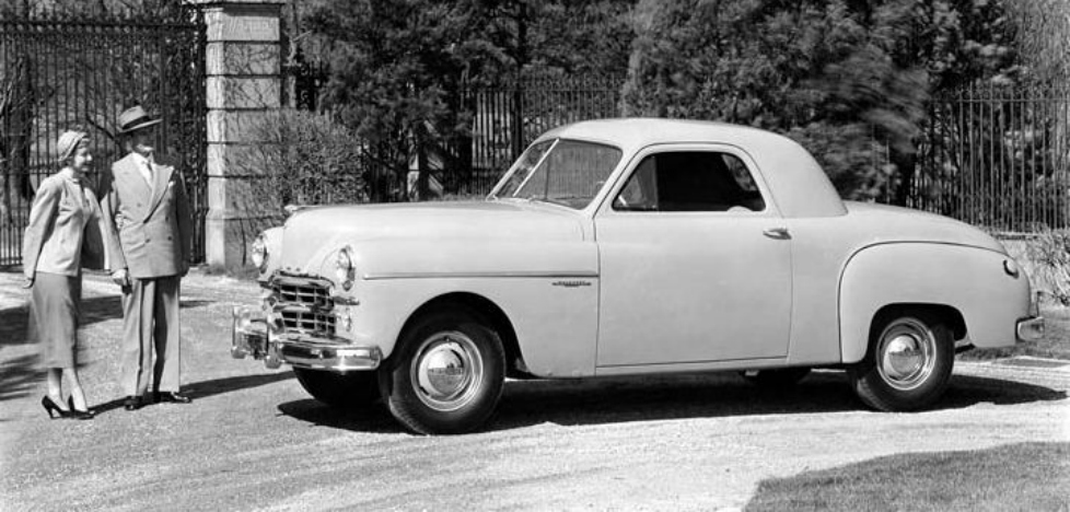 Car Style Critic The Transitional 1949 Dodge Wayfarer Line