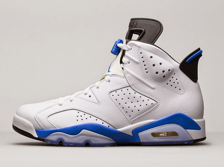 the best attitude ea227 dc604 ... closeout the air jordan 6 retro sport blue is available in full family  sizing. air