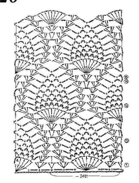 World crochet: Blouse 15
