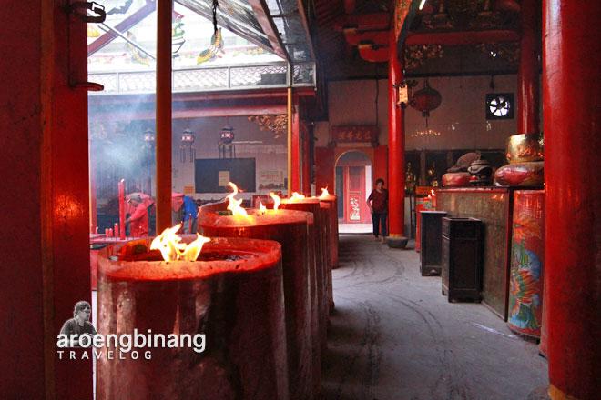 lorong lilin kelenteng jin de yuan jakarta