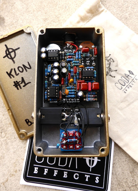coda effects klon centaur clone and mods (aion refractor)klon centaur clone aion electronics refractor i decided to build a
