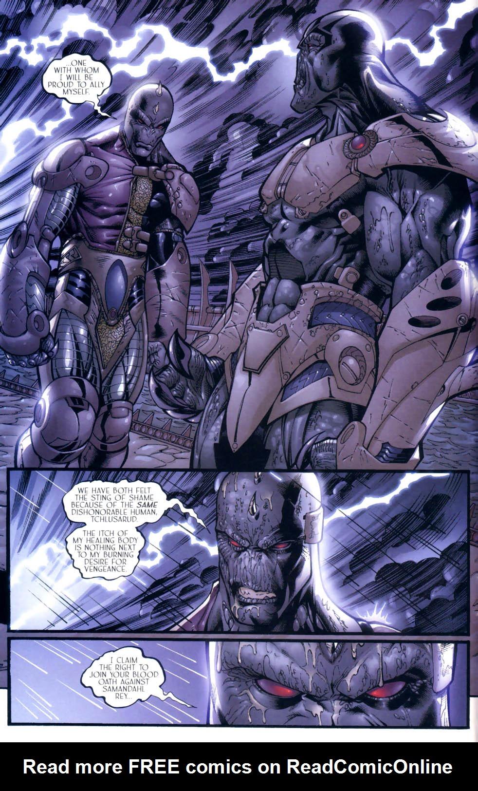 Read online Sigil (2000) comic -  Issue #9 - 10