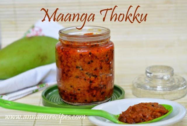 Mango Thokku / Maanga Thokku