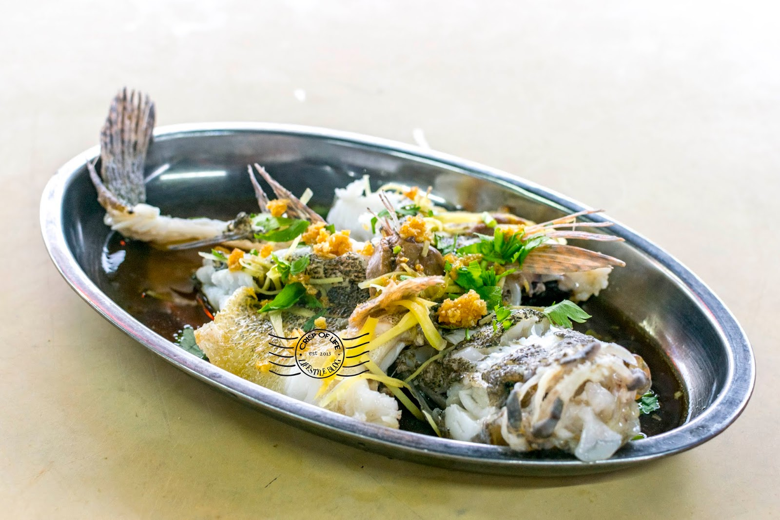 Ng Hang Kee Fresh Water Seafood Restaurant 黄汉期河鲜 @ Bagan Samak, Kedah