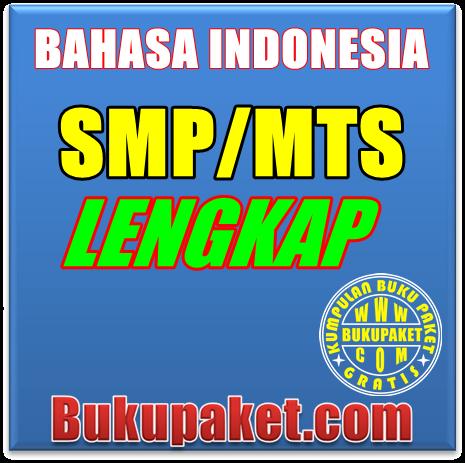 gambar dan cover buku bahasa indonesia SMP