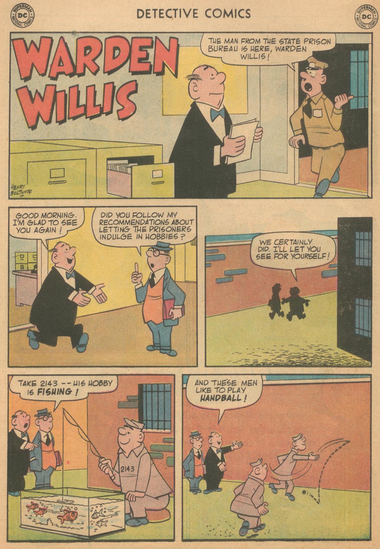 Read online Detective Comics (1937) comic -  Issue #261 - 24