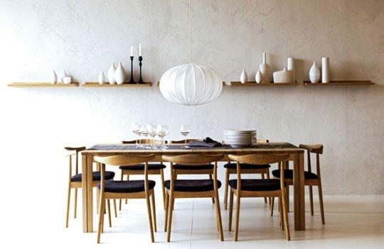 Minimalist Dining Table Home Decor Vill