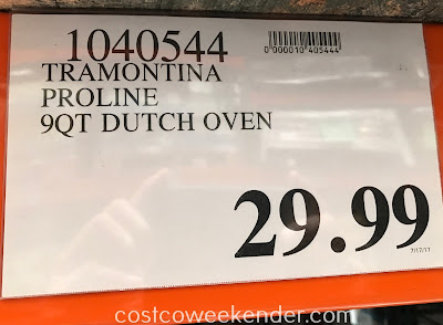 Costco 1040544 - Deal for the Tramontina ProLine 9qt Dutch Oven at Costco