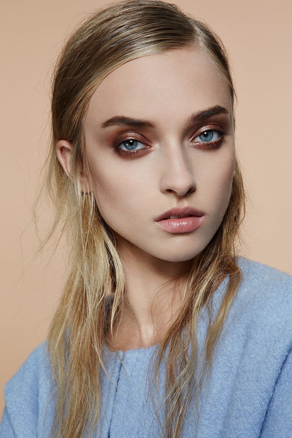 Stylist Magazine Complexion Beauty Editorial with Gucci ...