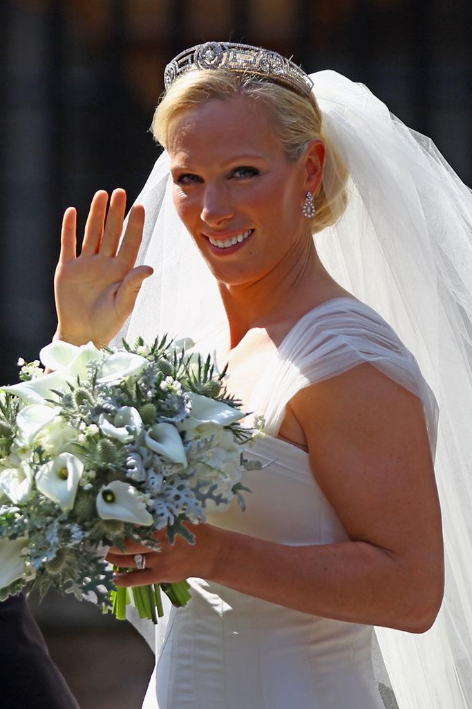 Bride Tasmania Blog Zara Phillips  Mike Tindall tie the knot