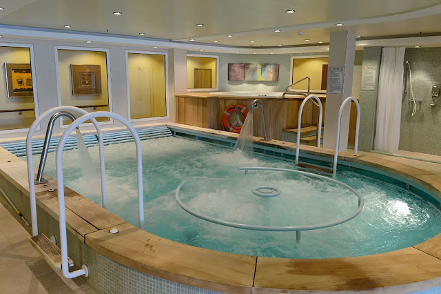 Spa aboard the Norwegian Pearl