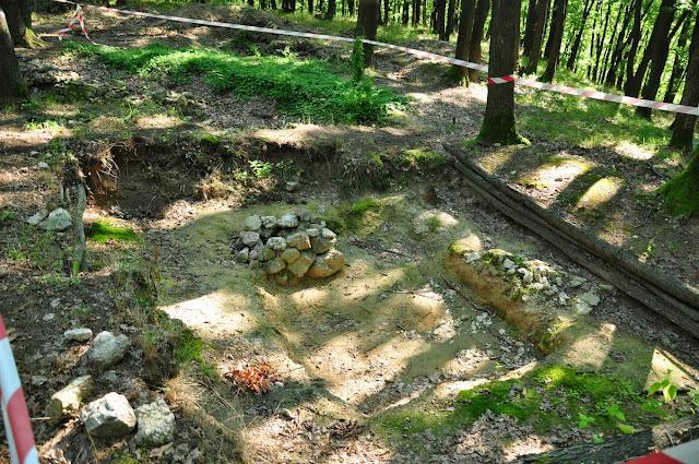Bojná - wykopaliska archeologiczne na grodzisku
