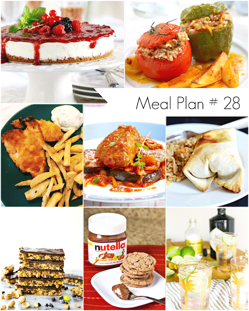 Ioanna's Notebook - Weekly Meal Plan # 28