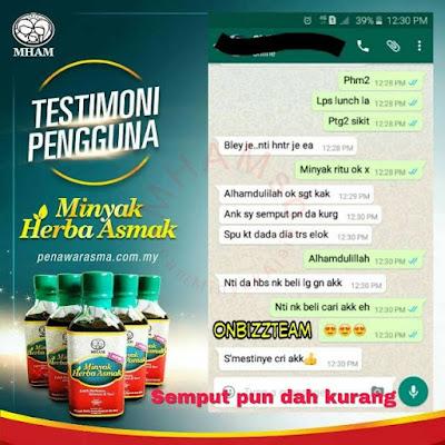 minyak herba asma