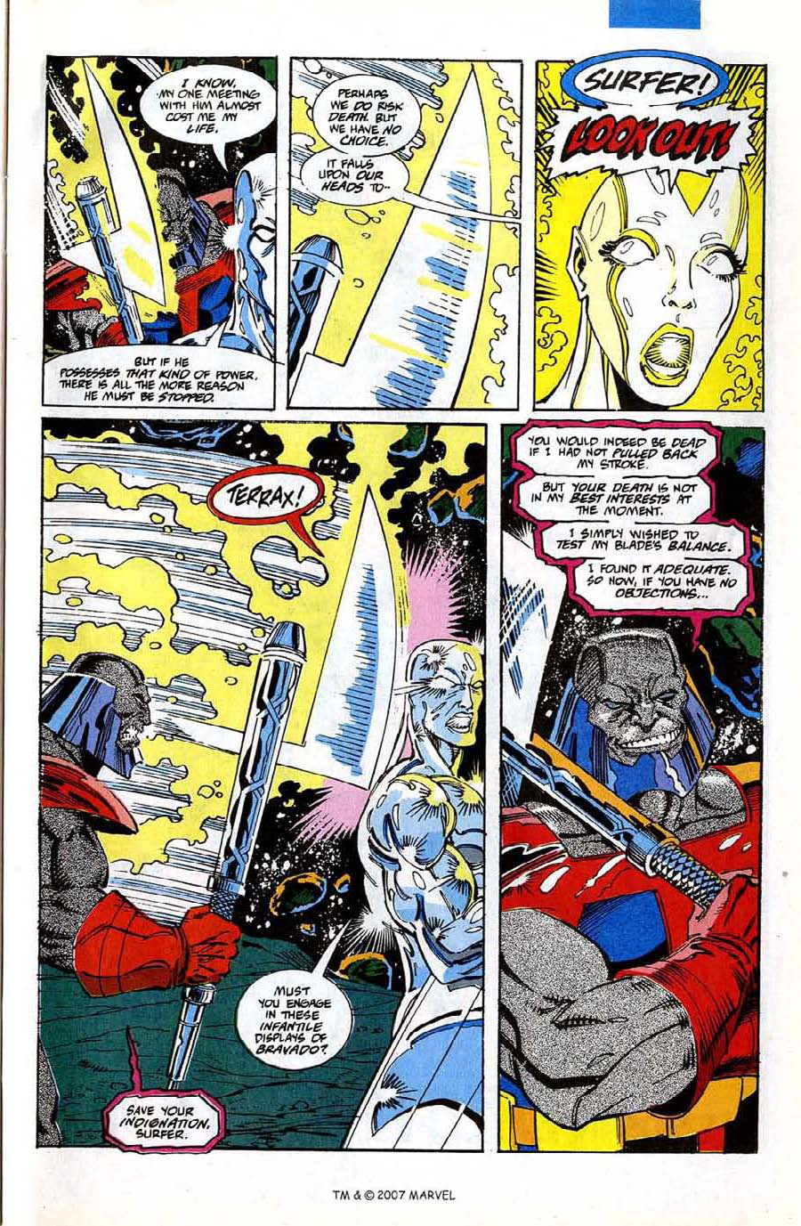 Read online Silver Surfer (1987) comic -  Issue #74 - 31