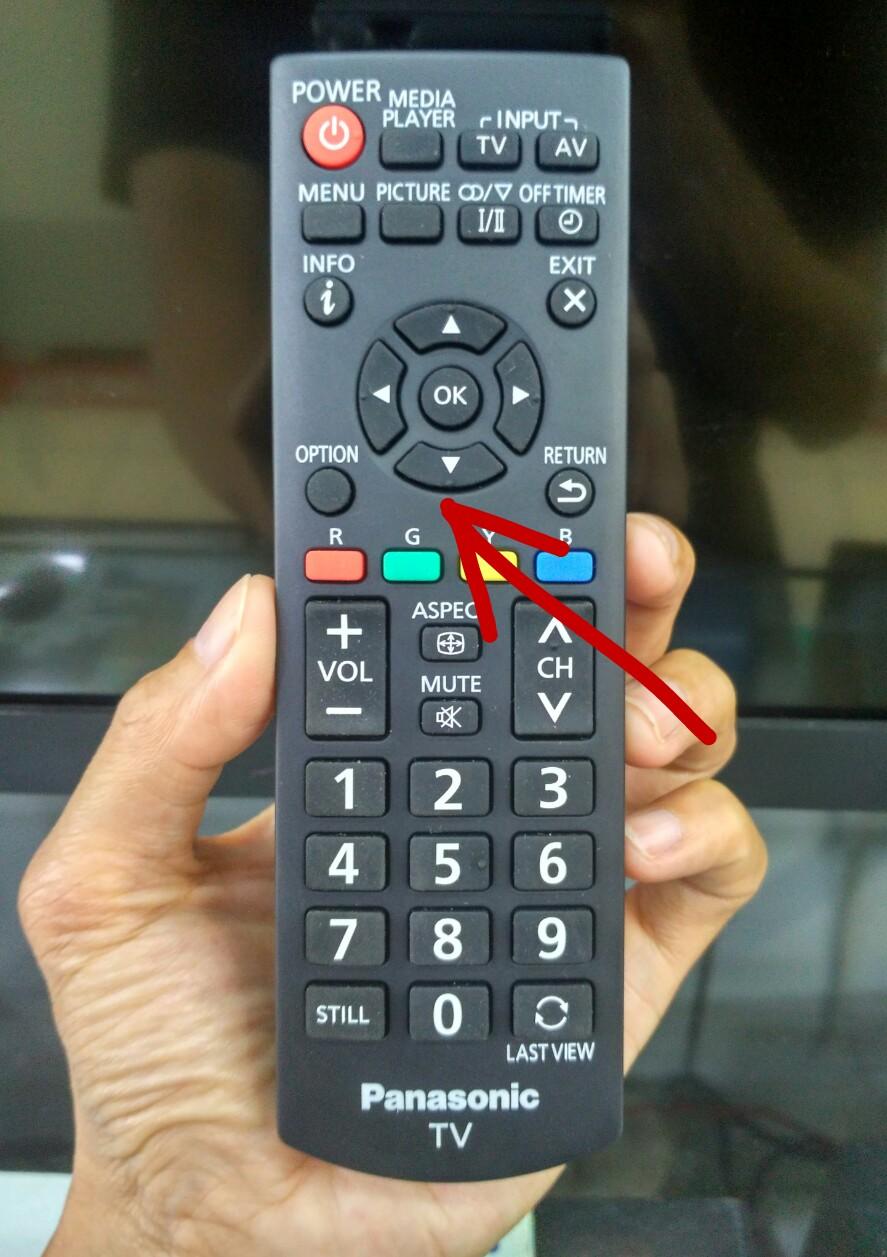 Cara Mencari Channel atau Saluran TV LED Panasonic