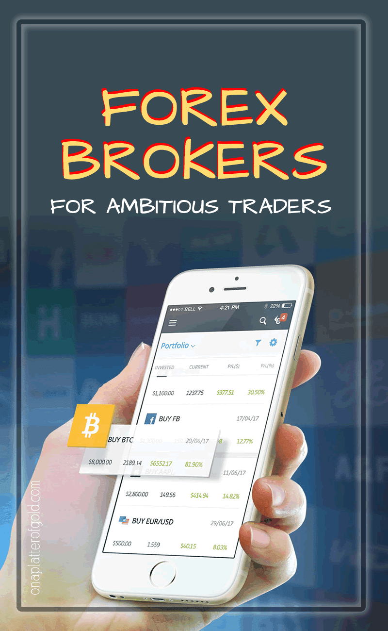 5 Best Forex Brokers For Ambitious Traders