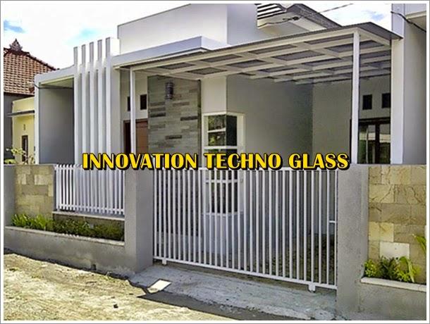 Desain carport rumah kecil konsep desain rumah mewah minimalis