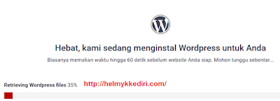 Tutorial membuat blog wordpress selfhosting gratis9