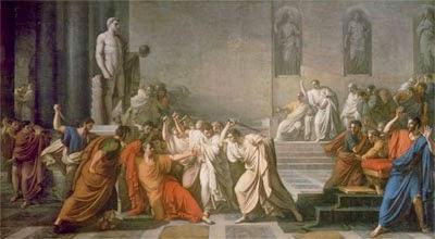 Morte di Giulio Cesare (V. CAMUCCINI)