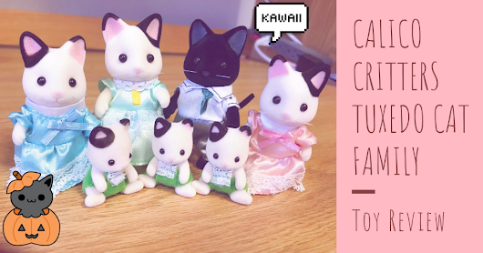 Calico Critters Tuxedo Cat Family Toy Review