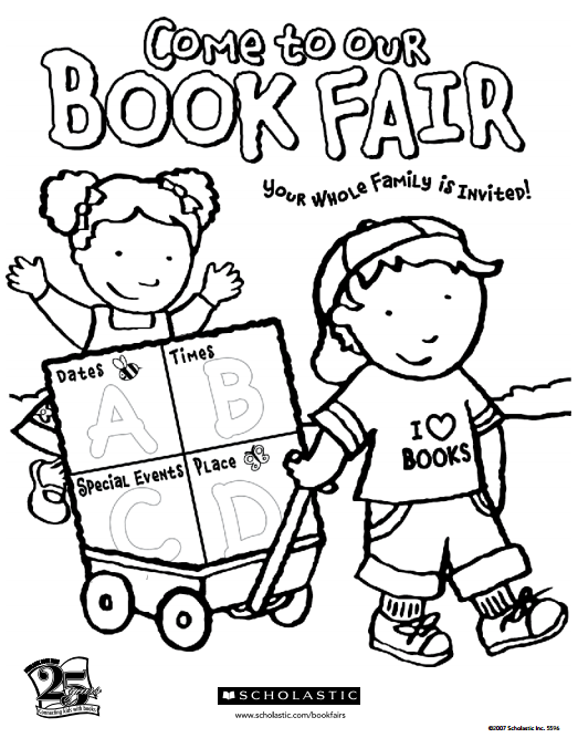 i entice my students to do their best by making it a contest the best coloring page from each grade level receives a free book from the fair