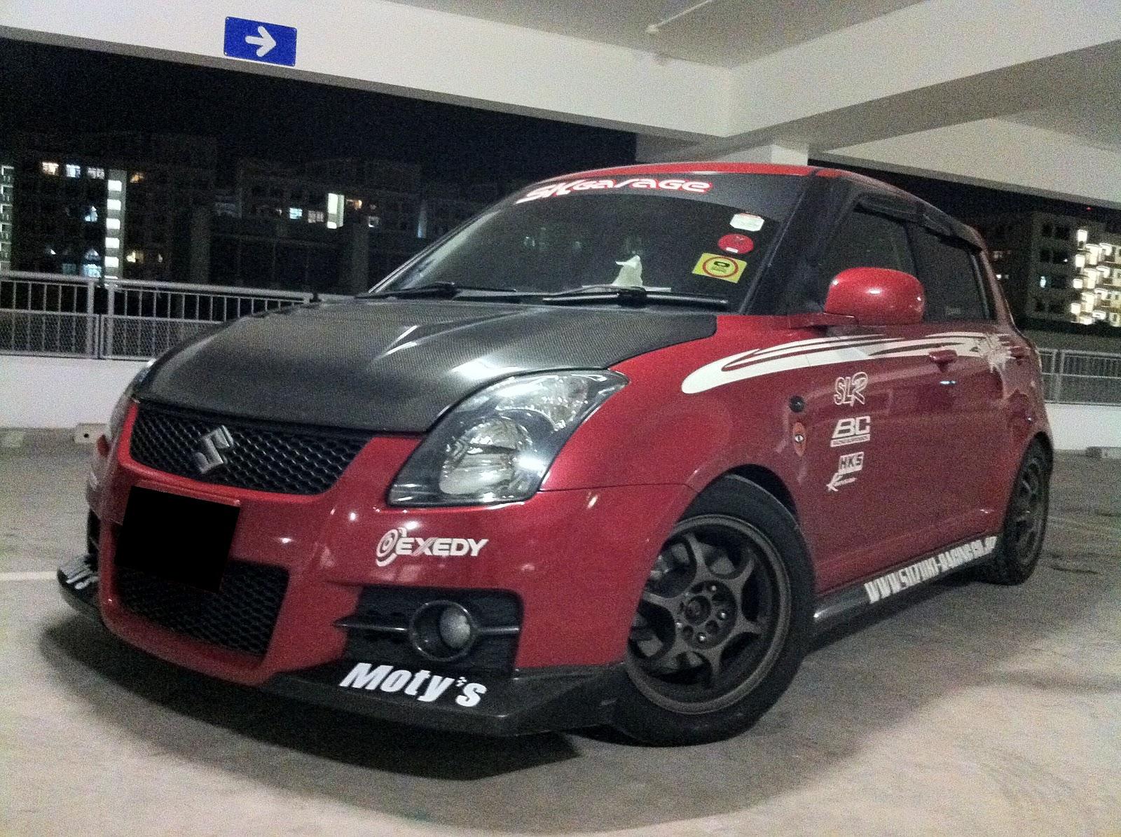 The Suzuki Swift Sport Ltd Edition Sunline Racing Theme