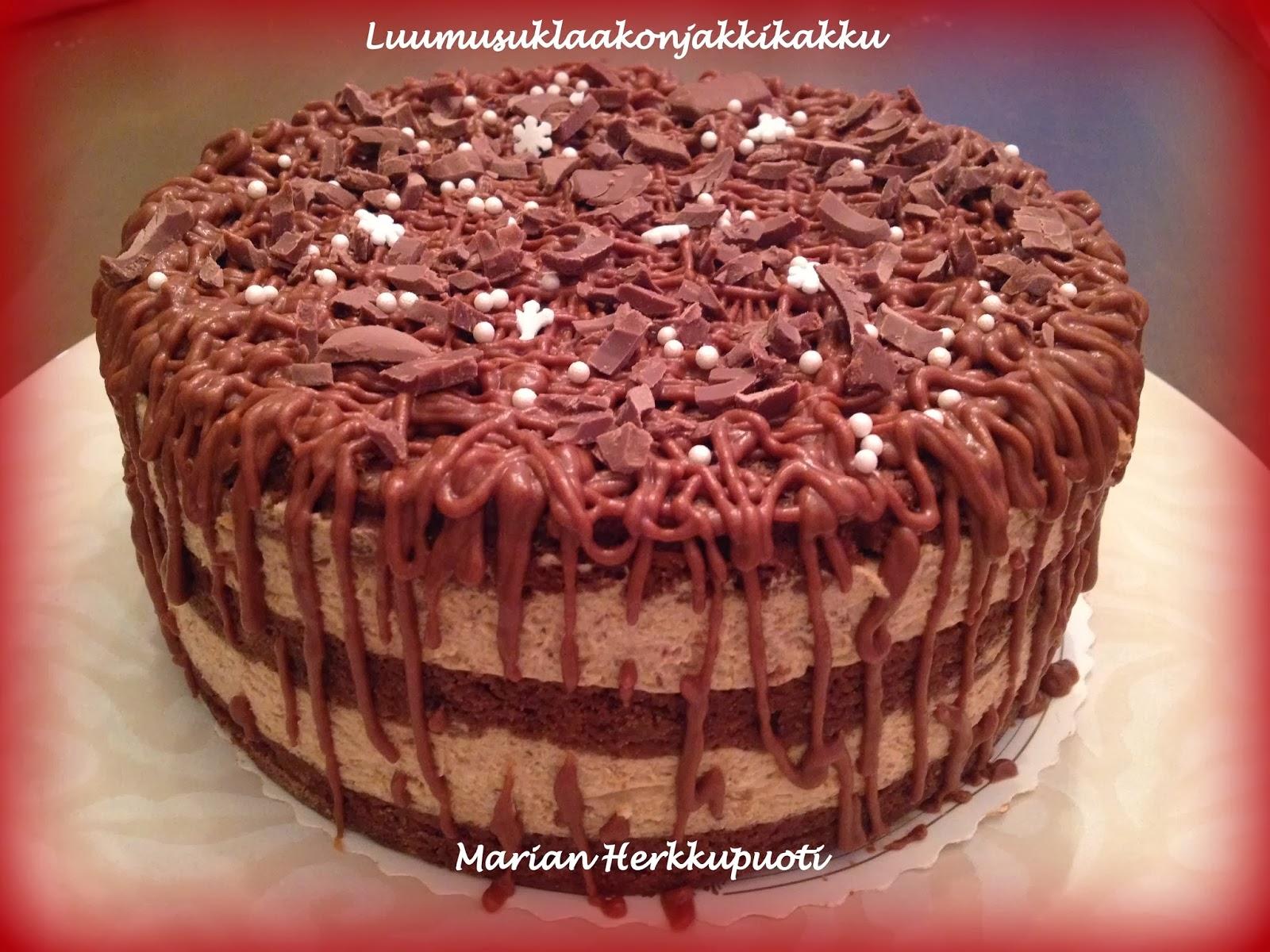 neliön muotoinen kakkupohja
