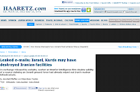 Haaretz.com 28/2/2012 02:00