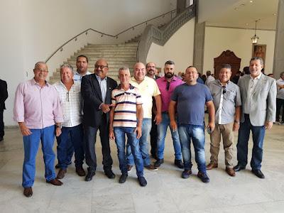 Governador Márcio França recebe cerca de 200 dirigentes sindicais