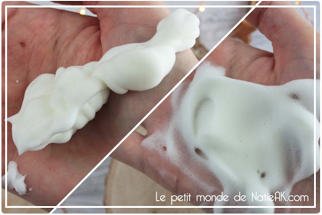 Body Mousse nettoyante de Qiriness agrumes et fruits de la passion