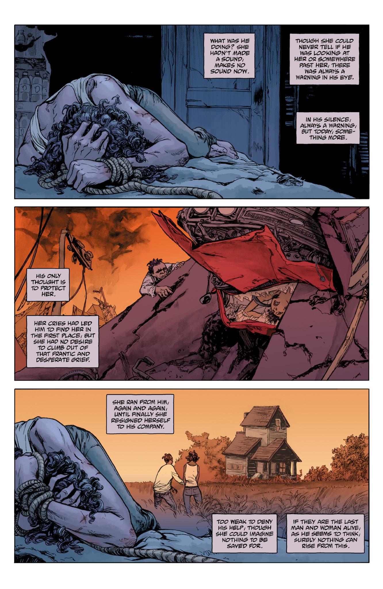 Read online Abe Sapien comic -  Issue #12 - 16