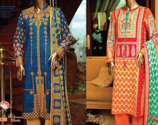 Junaid Jamshed Midsummer lawn dress